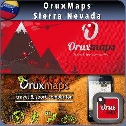 Mapa digital oruxmaps Parque Nacional Sierra Nevada - Mérida