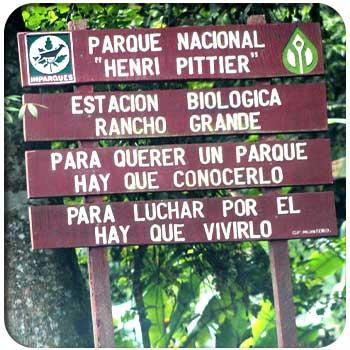 Lugares de interes Parque Nacional Henri Pittier
